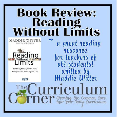 limits books reading without limits book review the curriculum corner 123