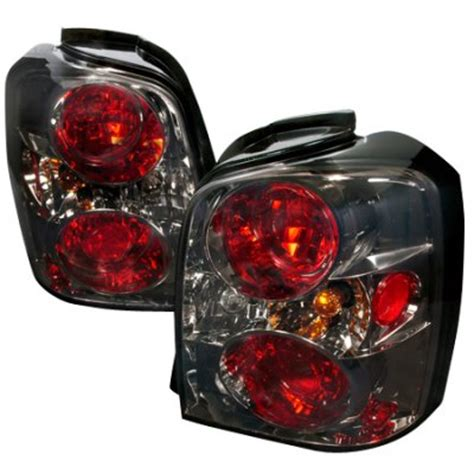 2004 toyota highlander tail light assembly toyota highlander 2004 2007 smoked altezza tail lights