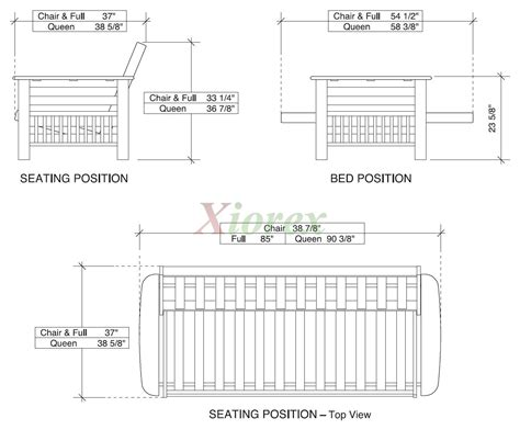 Standard Futon Length by Standard Futon Size Roselawnlutheran