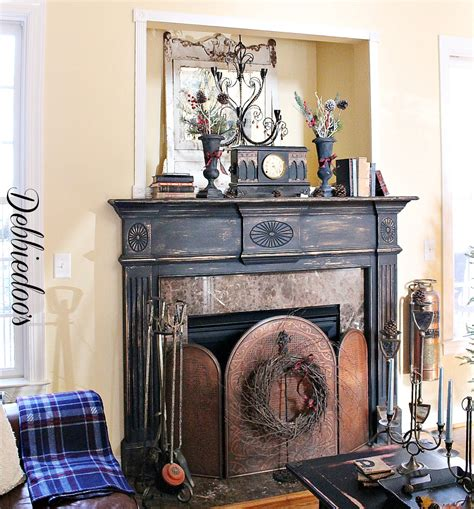 painting a fireplace mantel painting the fireplace surround debbiedoo s