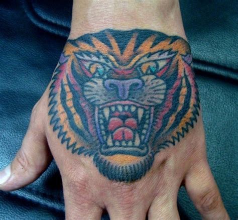 tattoo on hand bad idea gents tattoos royal gallery skin pinterest tiger