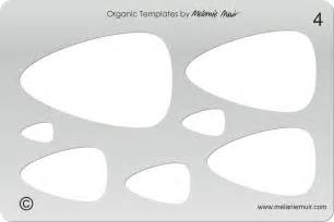 no 4 clear acrylic template stencil for polymer metal