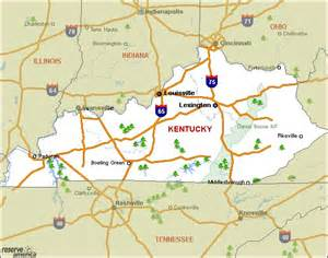 Kentucky State Parks Map by Similiar Kentucky Campgrounds With Lake Map Keywords