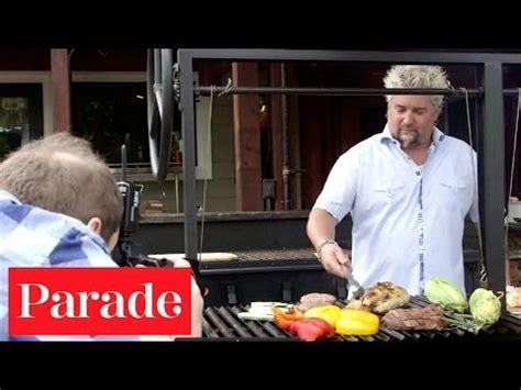 guy fieri backyard nor cal barbecue weber just add lemon garlic and herb