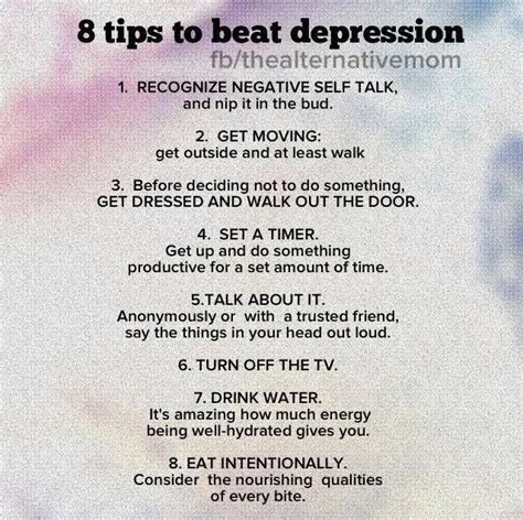 8 tips to beat depression a reason to beat the inner