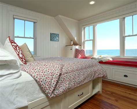 Clever Storage Ideas For Small Kitchens by Small Beach House Lives Big Beach Style Bedroom