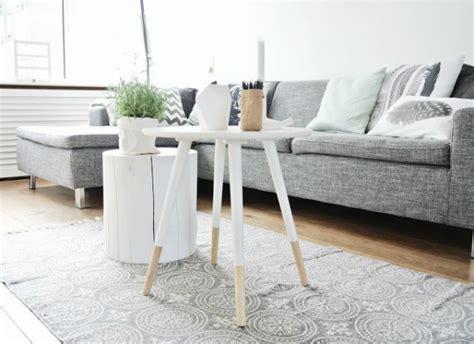 boomstam tafel wit interieur natuurlijk wonen met een boomstam tafel of tak