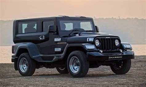 dilip chhabria modified jeep dc design hammers a mahindra thar autodevot