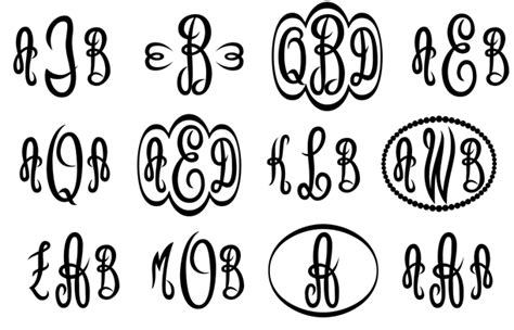 Mprees Letters empress monograms font by harold s fonts font bros