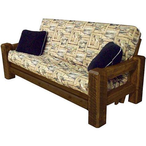 Futon And Frame by Tables And Seating Barnwood Futon Frame Bw48
