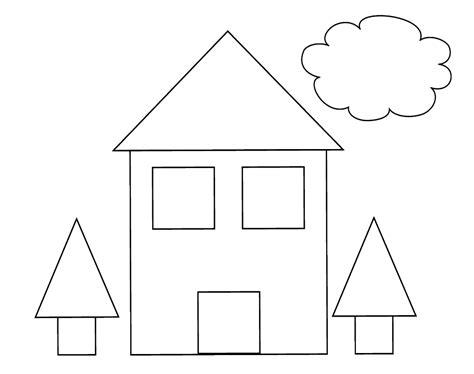 desenho de casas brinquedos de papel casa desenhos para colorir
