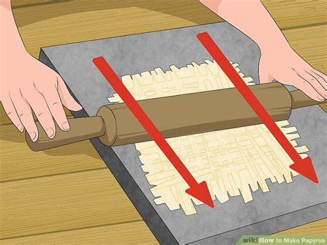 How Do You Make Papyrus Paper - how to make papyrus with pictures wikihow