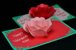 flower pop up card templates flower pop up card template