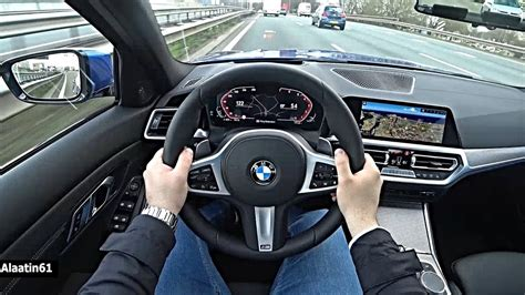 bmw  series  pov test drive youtube