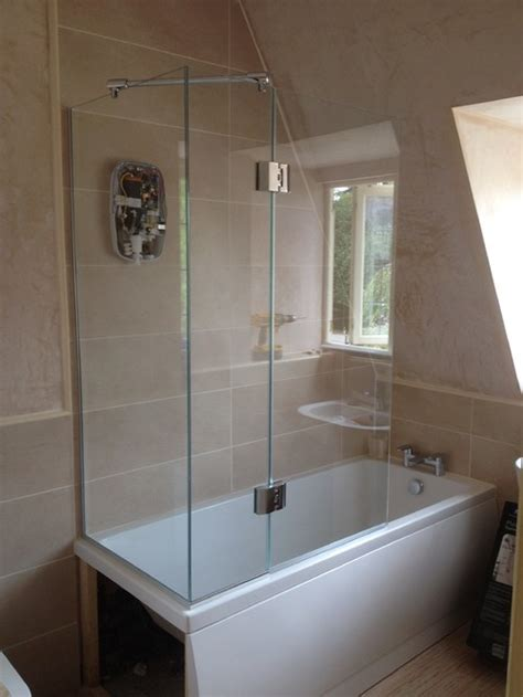 shower doors for bath do you make bath shower doors for the tap end