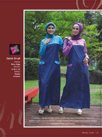 Baju Muslim Pasangan Katun Denim Kokogamis Abu Ct50 51 busana muslim zenitha juni 2012 butik tas batik modern sepatu lukis tas laptop