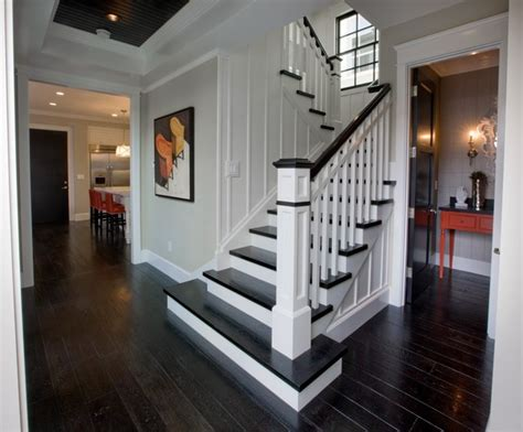 Entry Stairs Design Entry Stairs And Powder Bath Traditional Staircase Orange County By Details A