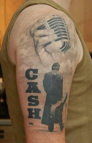 johnny cash tattoos johnny tribute tattoos