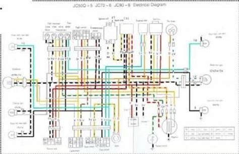 monkey bike wiring diagram efcaviation