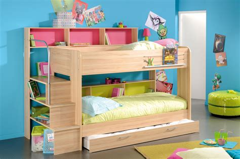 kids bedroom furniture bunk beds space saving stylish bunk beds for your home