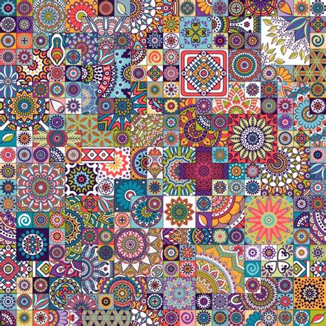 mosaic pattern background mosaic background vector free download