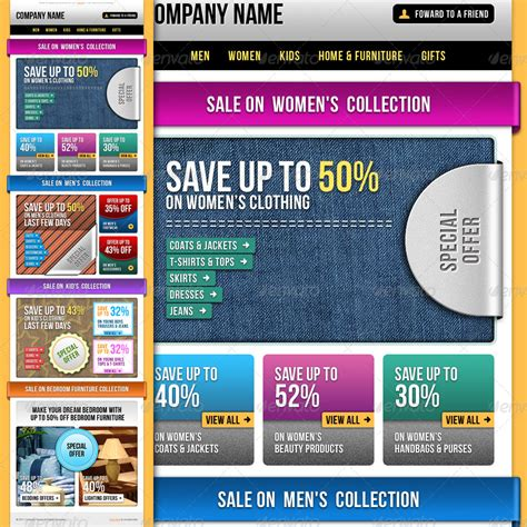 E Commerce Special Offer Email Template Vol 1 By R Genesis Graphicriver Special Offer Email Template