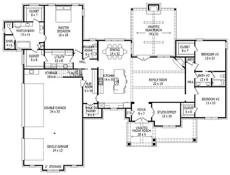 2700 sq ft house plans house plan 940 00009 craftsman plan 2 700 square