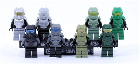 Ac 3 4 Pk Gree clone army customs squad pack green vs gray