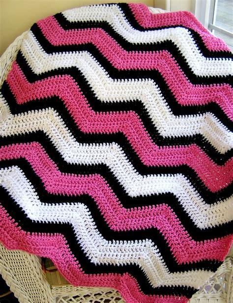 crochet pattern zig zag afghan new chevron zig zag baby blanket crochet wrap afghan lap