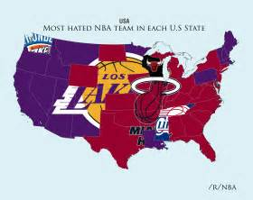 Boss sports hate me now reddit user maps out nba teams hatred