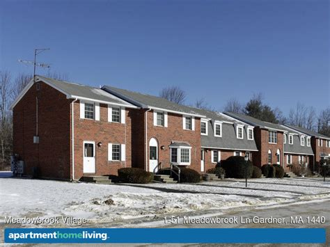 appartments for rent in ma meadowbrook village apartments gardner ma apartments