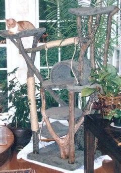 real tree or fake foe cats how to choose a rustic cat tree lovetoknow