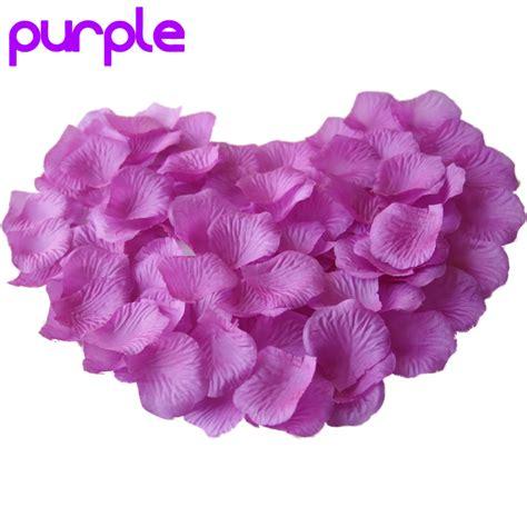 50 Pcs Table Confetti Decoration Silk Petals Flower 300pcs silk flower petals for engagement wedding