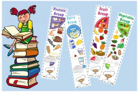 free printable nutrition bookmarks nutrition education bookmark free printables creative