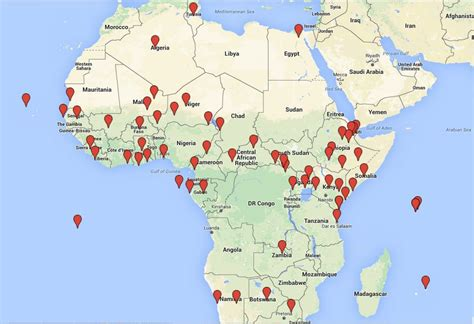us air force bases in africa map the us military s best kept secret the nation