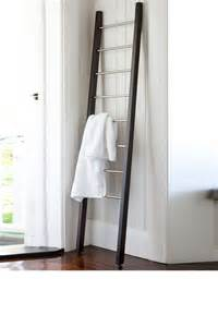 ladder towel bar ladder towel rack home stuff d ladder