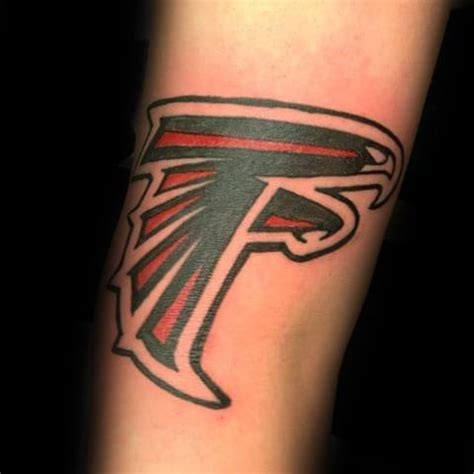 20 atlanta falcons tattoo designs for men football ink ideas