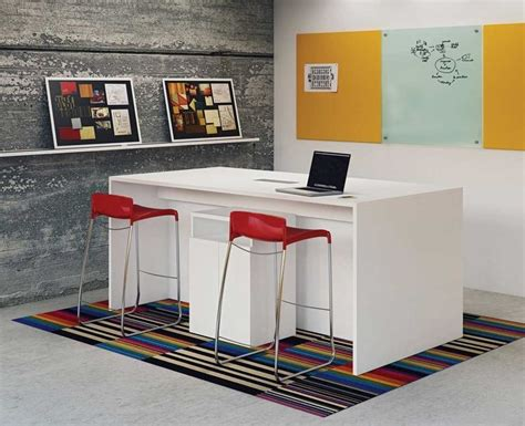 Bar Height Meeting Table 37 Best Collaborative Office Furniture Images On Office Furniture Office Spaces And