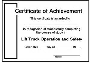 Forklift Certificate Template by Course Manager S Guide To Lift Truck Demonstrations