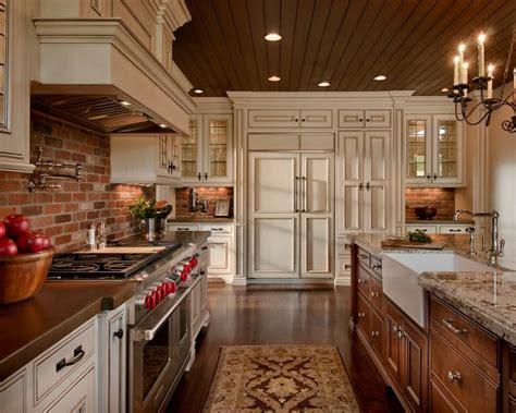 brick backsplash idea makes your kitchen looks beautiful brick backsplash photos