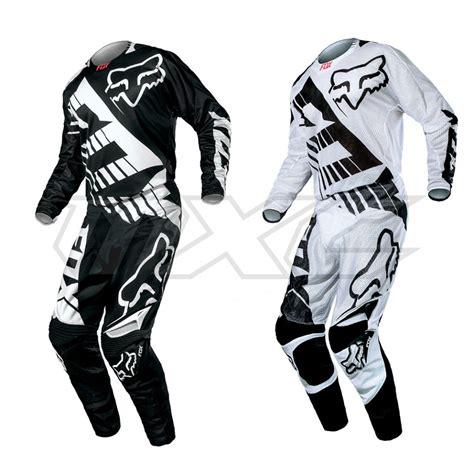 Yamaha Motorrad Klamotten by Fox 360 Savant Airline White Black Combo Im Motocross