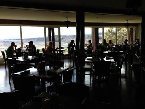 volcano house restaurant inside volcano house restaurant picture of volcano house hawaii volcanoes national