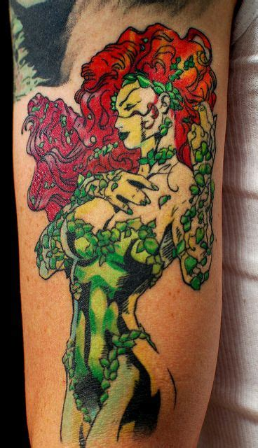 poison ivy tattoo 26 fantastic poison tattoos