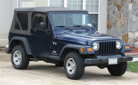 Jeep Wrangler Tj 1997 2006 Service Repair Manual Download