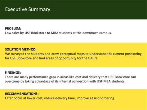 Usf Executive Mba Cost by Perceptual Mapping For Usf Bookstore