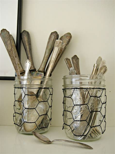 craft wire projects lots of unique jar crafts rustic crafts chic decor