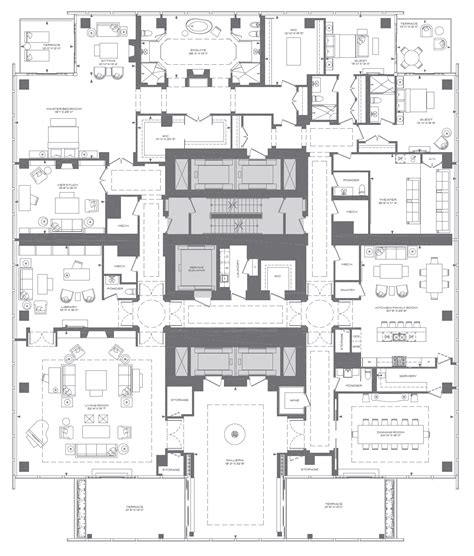 new york apartments floor plans new york luxury apartment floor plans planos de