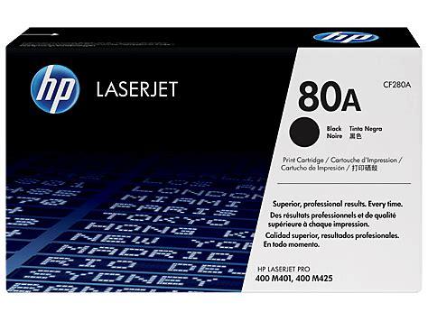 Toner Laserjet Hp Cf280a 80a Original toner hp cf280a 80a 芻rna original printink si