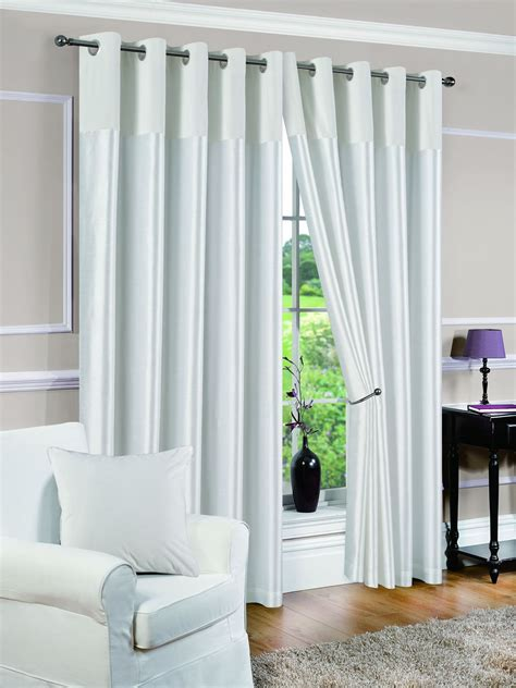 white voile lined curtains monet white lined voile curtains curtain menzilperde net