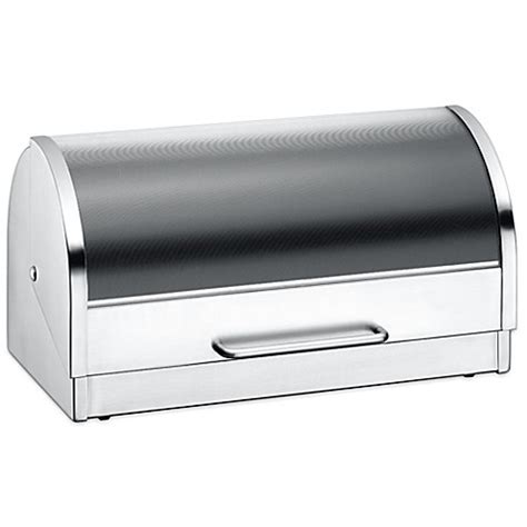 bed bath and beyond bread box wmf bread box in silver bed bath beyond
